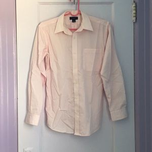 Lord & Taylor Pink Button Up